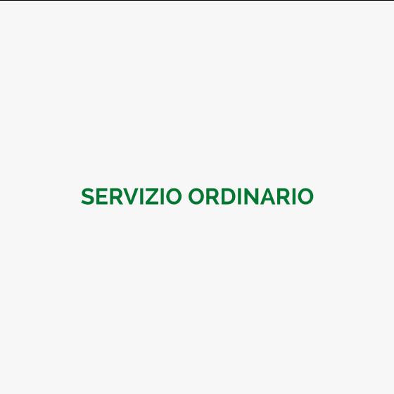 Servizio Ordinario